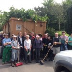 14 May 2016 - St Hippolytus Church clear up